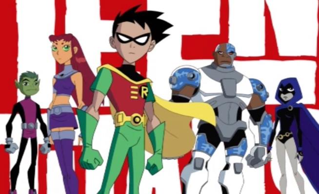 La serie Teen Titans