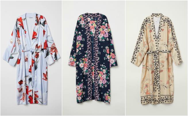 Kimono moda Primavera Estate 2018