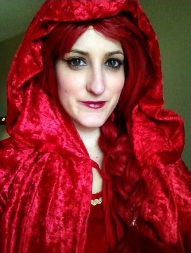 Il costume di Melisandre per Halloween