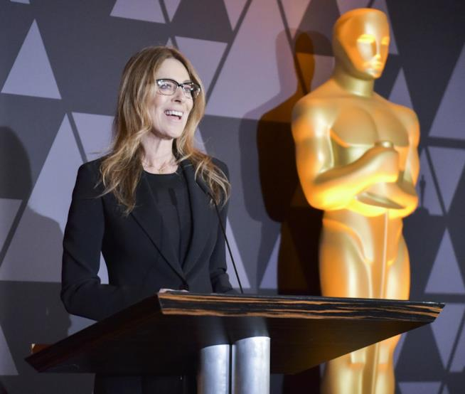 La regista Kathryn Bigelow