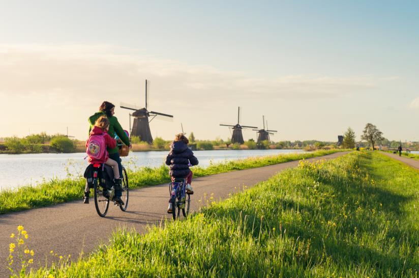 Tour bici + barca in Olanda