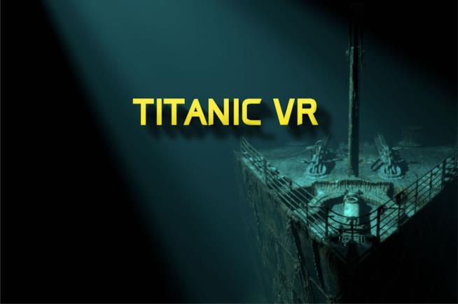 Banner di Titanic VR