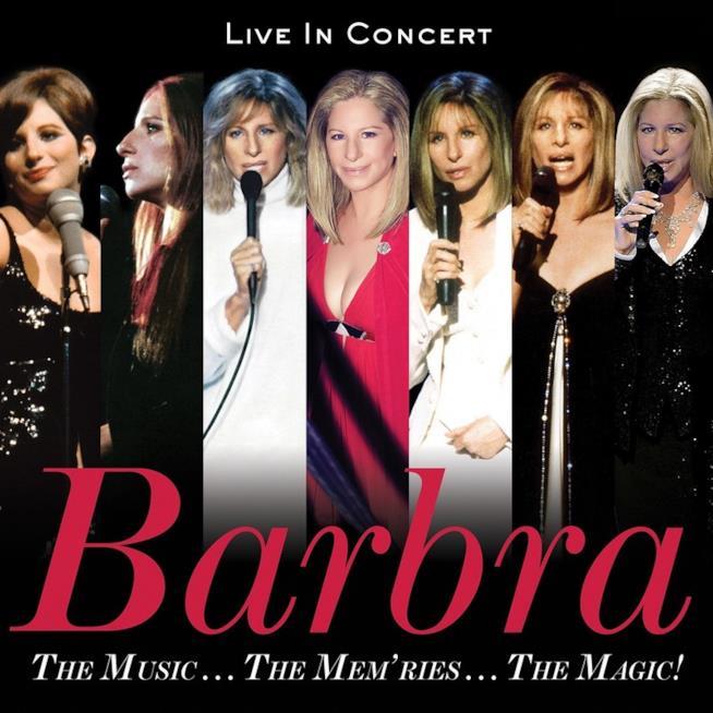 THE MUSIC…THE MEM'RIES…THE MAGIC! cover Barbra Streisand
