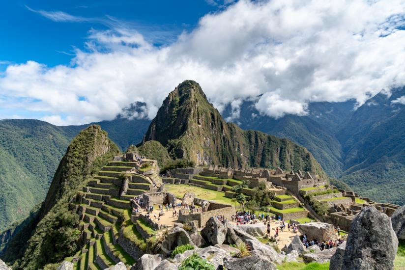 Il sito archeologico di Machu Picchu
