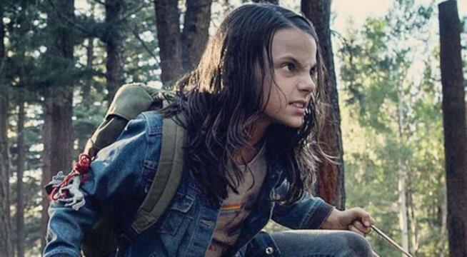 X-23 in una scena di Logan