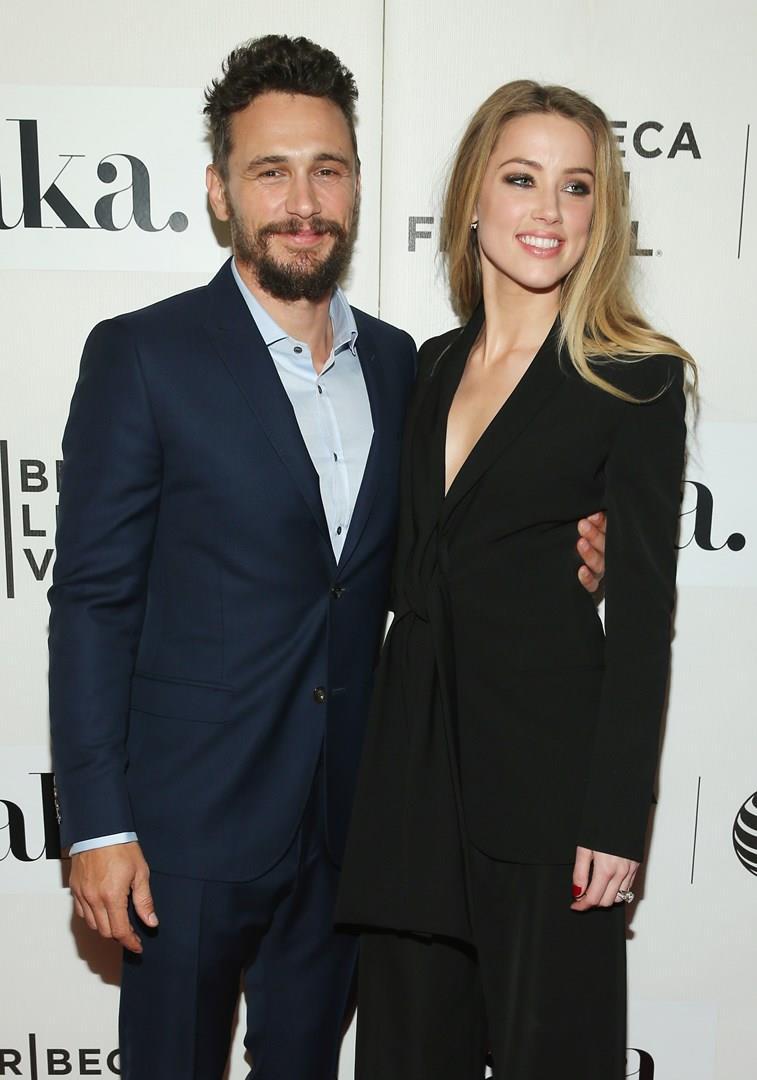 James Franco e Amber Heard