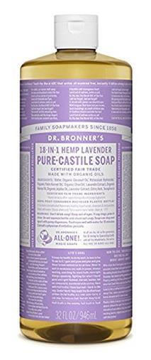 Castile Liquid Soap Lavanda