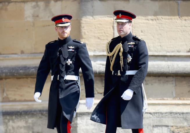 Il Principe Harry e il Principe William
