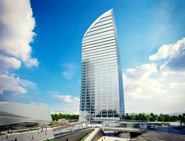 Torre Libeskind CityLife, il progetto per lo skyline di Milano