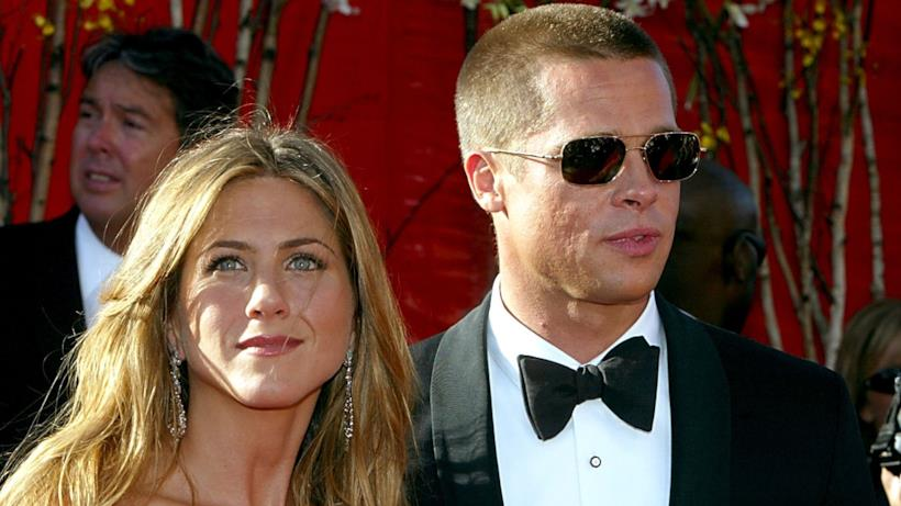 Jennifer Aniston e Brad Pitt quando stavano insieme