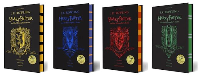 Le nuove copertine di Harry Potter e la pietra filosofale
