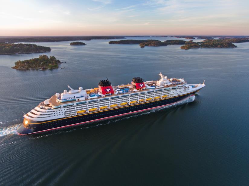 Le navi da crociera Disney