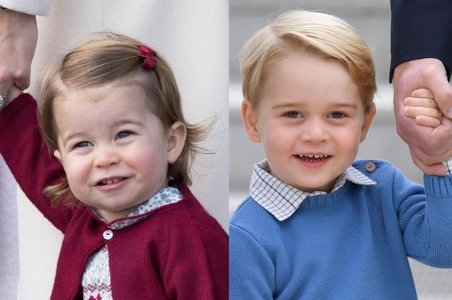 I nipoti degli sposi, figli di William e Kate, saranno i paggetti di Harry e Meghan