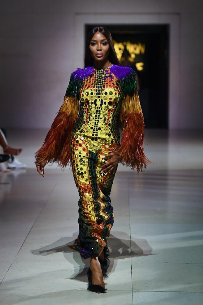 Naomi Campbell in passerella