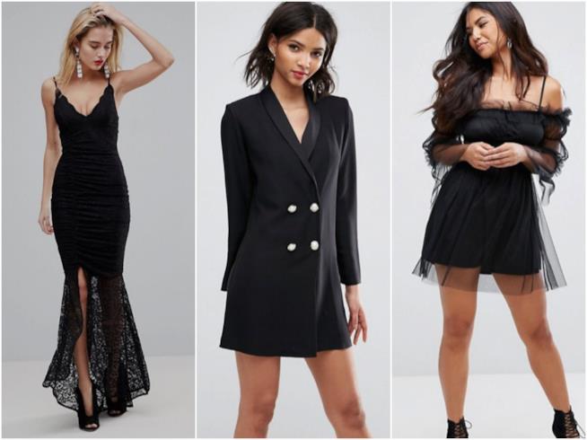 Tre abiti neri per San Valentino