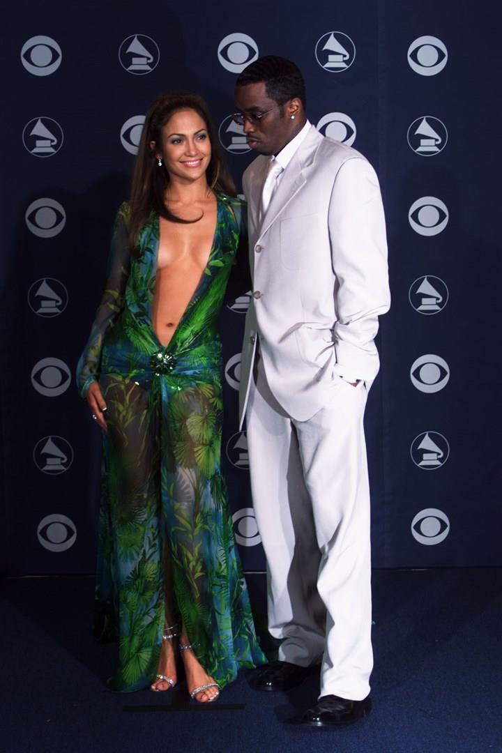 Jennifer Lopez con P.Diddy