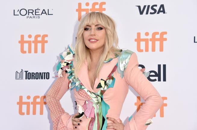 Lady Gaga durante un evento