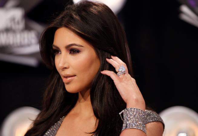 L'anello di fidanzamento di Kim Kardashian