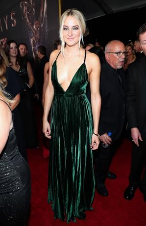 Shailene Woodley sul red carpet Emmy