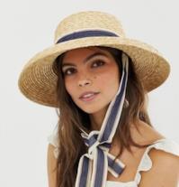 Cappello di paglia di Asos Design
