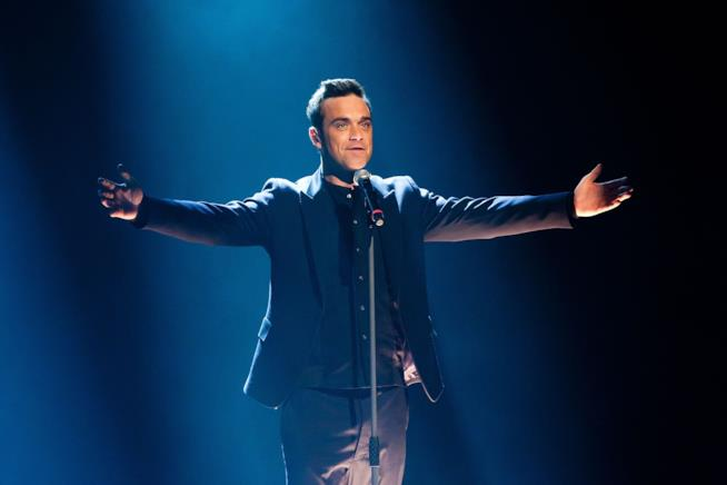 Robbie Williams dal vivo