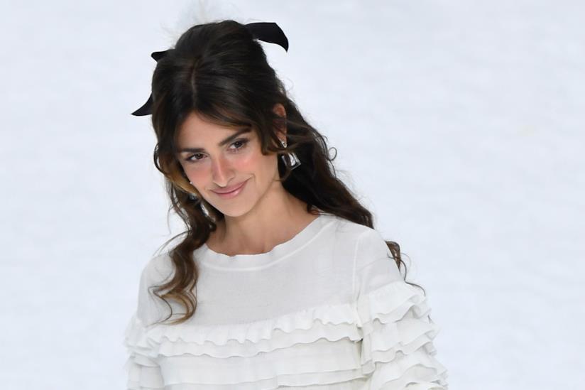 Penèlope Cruz alla sfilata Chanel