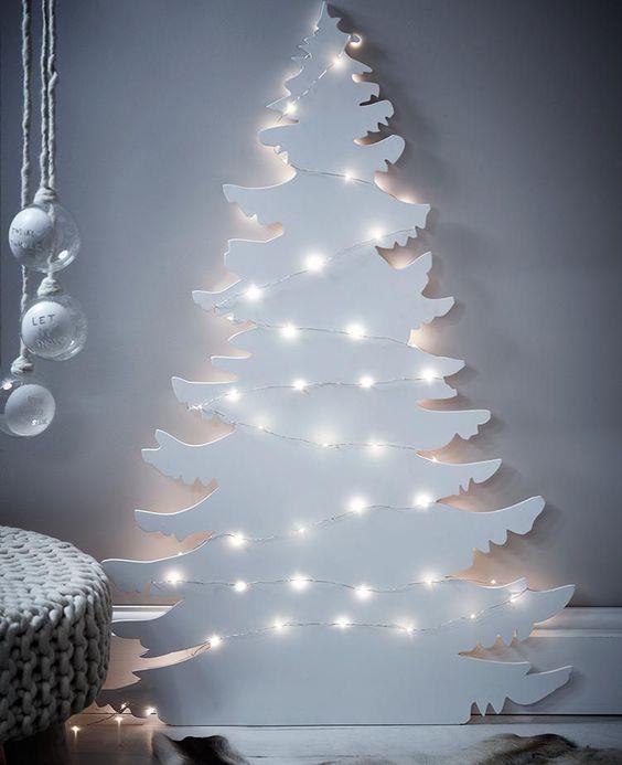 Immagini Natalizie Moderne.100 Idee E Immagini Per Realizzare L Albero Di Natale