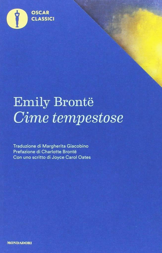 La copertina di Cime Tempestose nella versione Oscar Mondadori