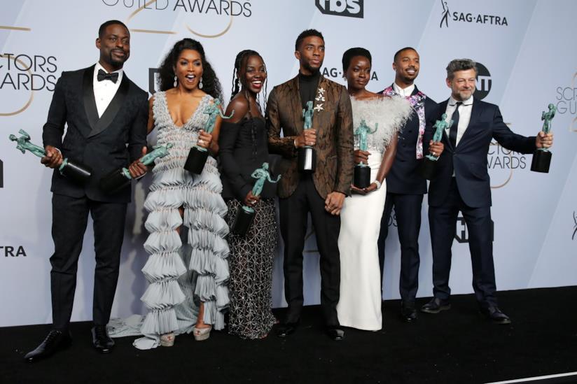 Black Panther, il cast