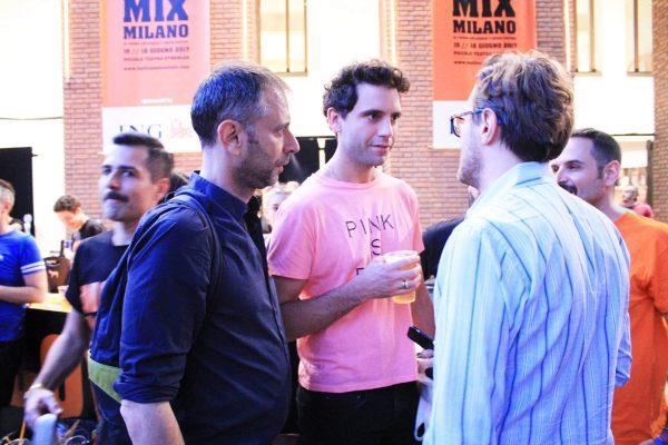 Mika al Festival Mix Milano
