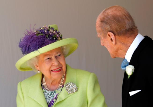 La Regina Elisabetta e Filippo