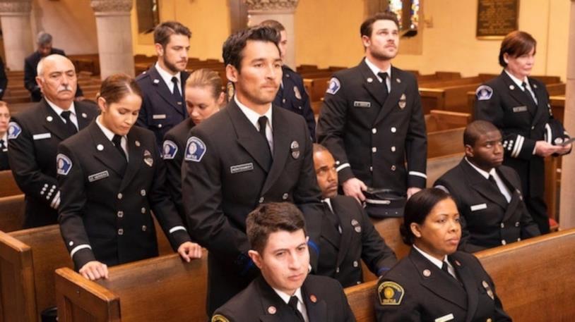 Un'immagine dall'episodio 2x16 di Station 19