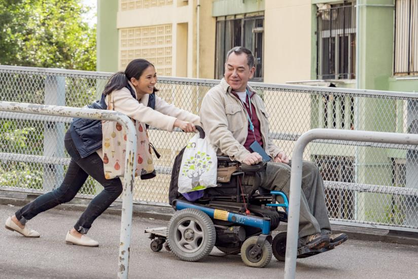 Una scena del film Still Human con Anthony Wong