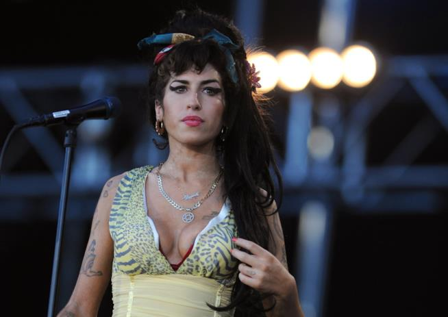 Primo piano di Amy Winehouse
