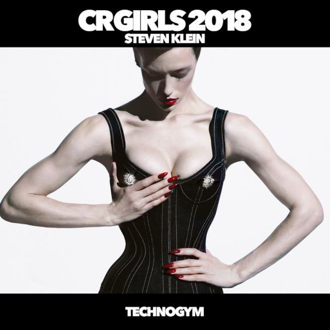 L'immagine di copertina del calendario CR Girl 2018