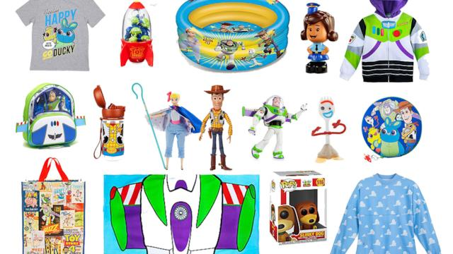 Toy Story: il meglio del merchandise ispirato alla saga animata Pixar
