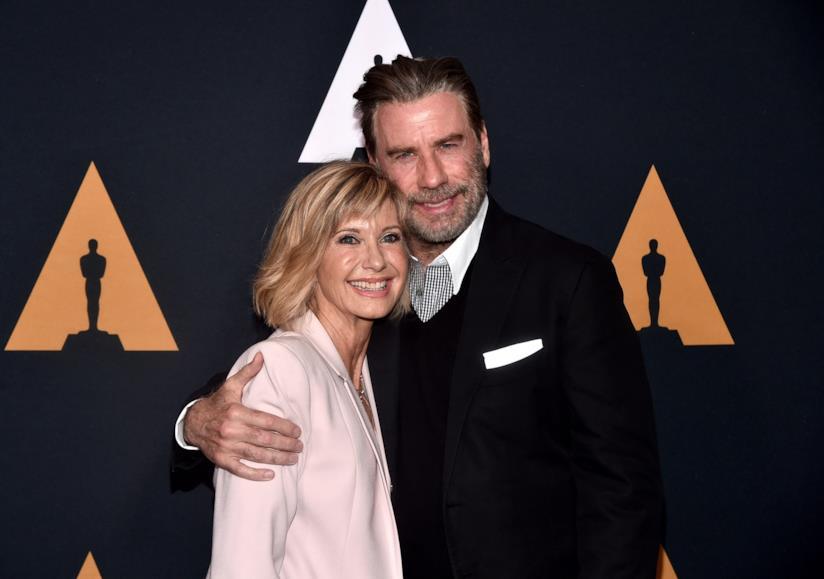 John Travolta insieme a Olivia Newton-John