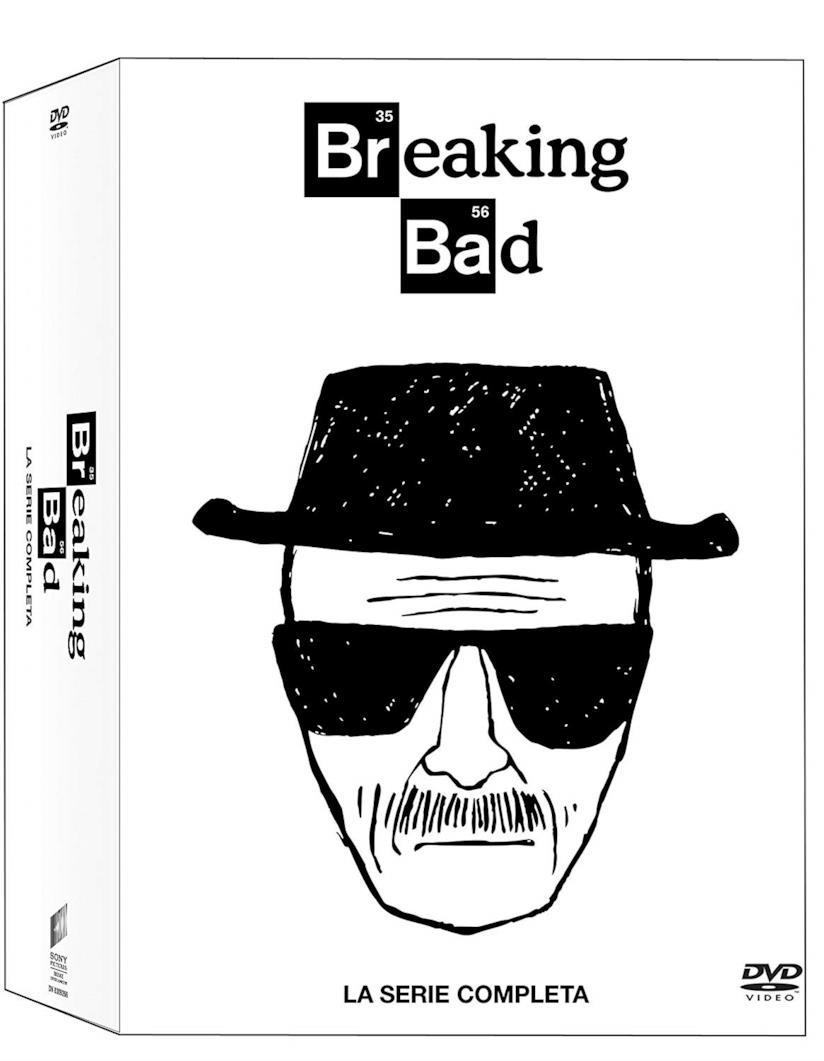 Cofanetto DVD di Breaking Bad - Stagioni 1-5