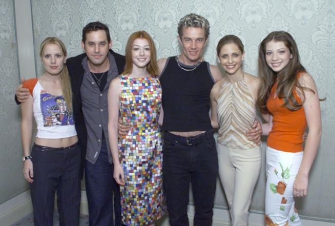 Il cast della serie TV Buffy