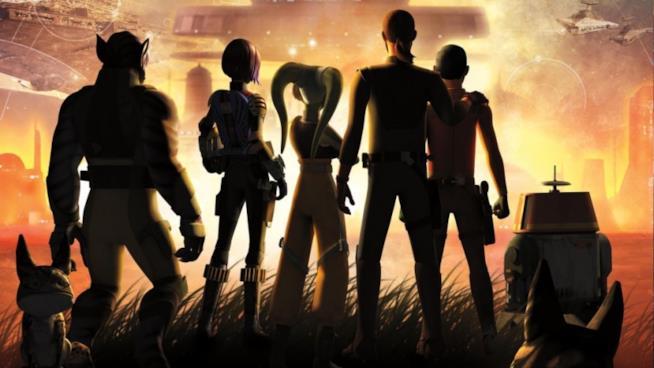 I protagonisti di Star Wars Rebels 4