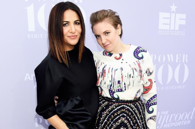 Le inseparabili Lena Dunham e Jenni Konner