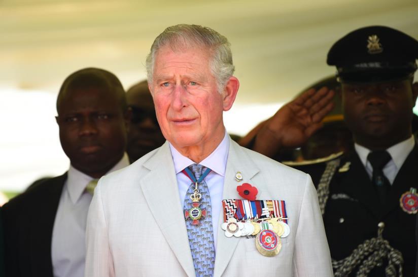 Principe Carlo in Africa