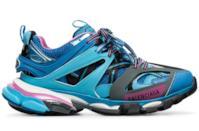 Sneaker Track blu/rosa/bianco