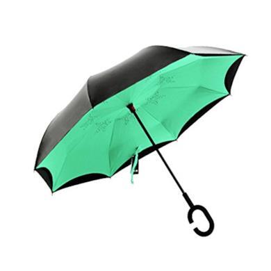 Ombrello inverso verde