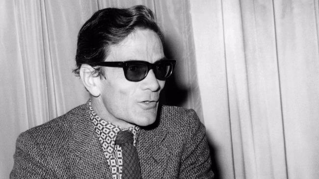 Uno scatto del regista, scrittore e intellettuale Pierpaolo Pasolini