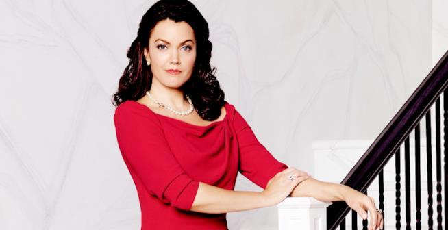 Bellamy Young (Mellie Grant) in una foto promozionale di Scandal