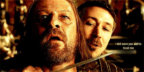 Ditocorto tradisce Ned Stark