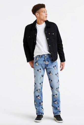 Levi's® X Mickey Mouse 501® Levi's®Original Fit Jeans