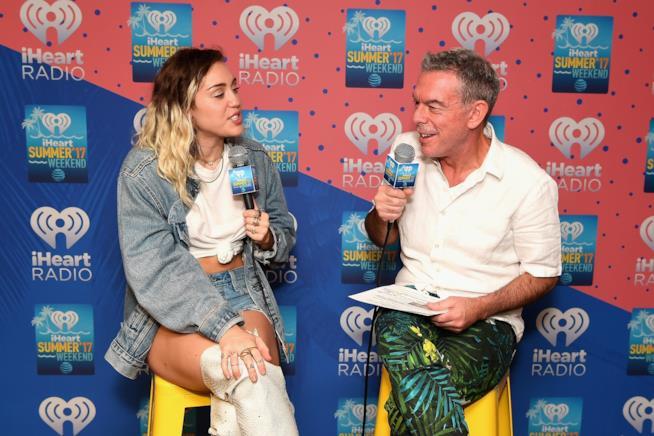 Miley Cyrus ospite di iHeart Radio