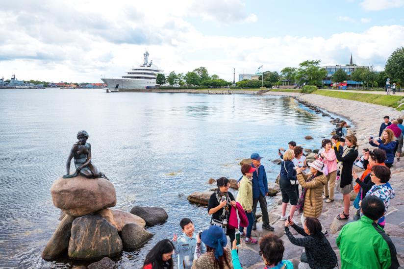 La statua della Sirenetta a Copanaghen